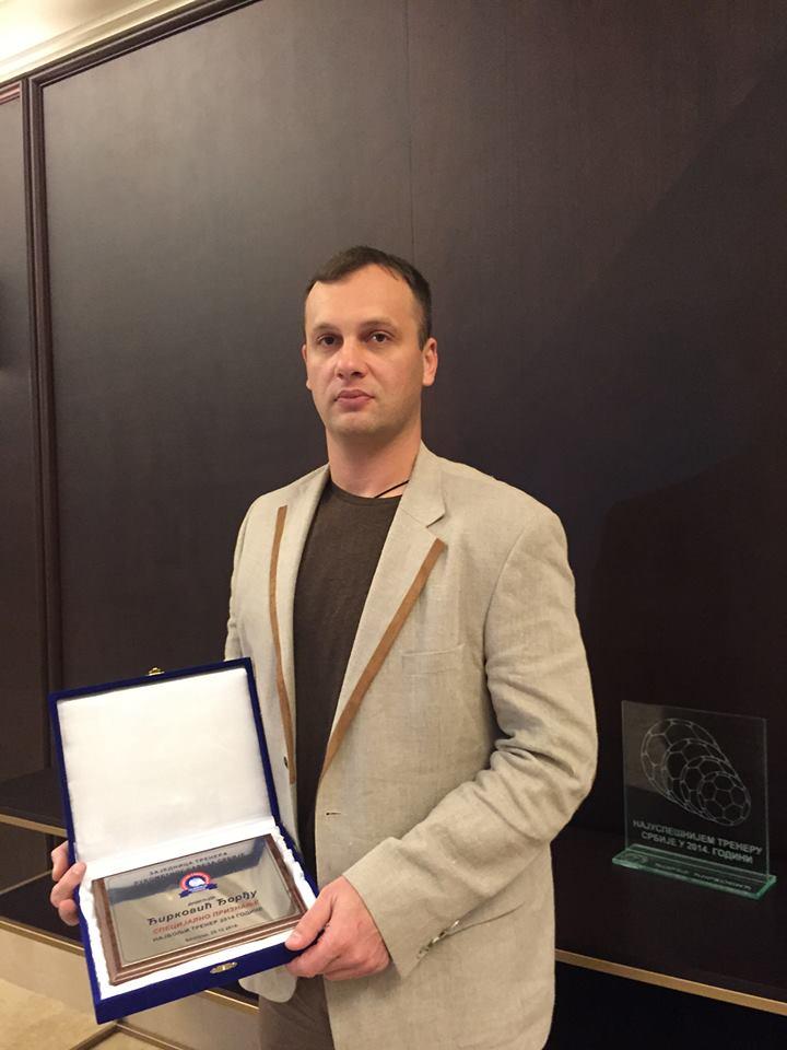 Đorđe Ćirković najbolji trener u 2014. godini