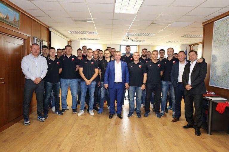 Srbija Gas primila šampione