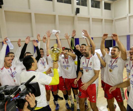 EHF Kup: Vojvodina – Green Park Tigers