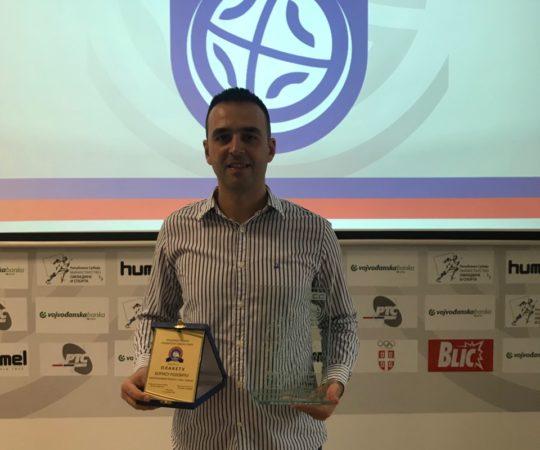 RSS: Rojević najbolji trener u 2018.