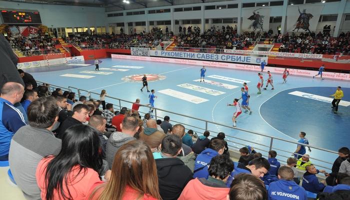 Vojvodina protiv Lovćena na startu EHF kupa