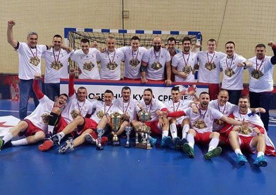 """Trofej Kupa Srbije se vratio """"kući"""""""
