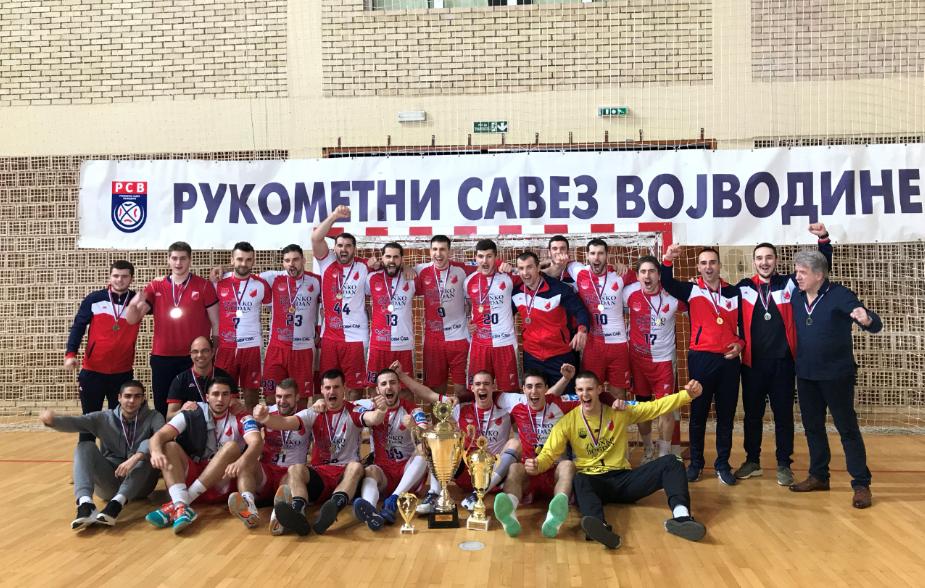 Nastavljena niska trofeja – Kup Vojvodine